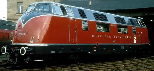 Immagine di possenza espressa dalla V200.002 a Norimberga nel 1985 - Foto © w+h Brutzer da flickr