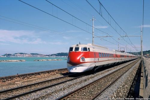 ETR 450  - il Pendolino della Roma-Foligno-Ancona - Foto © Giorgio Stagni da www.miol.it/stagniweb