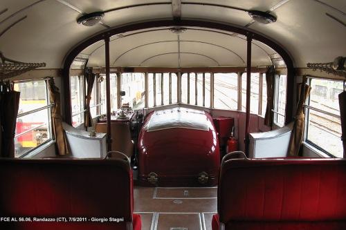 La spettacolare cabina di guida della FCE ALn 56.06 -Foto © Giorgio Stagni da www.miol.it/stagniweb