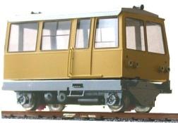 Carrello FS S95 (ancora allo stato di disegno)