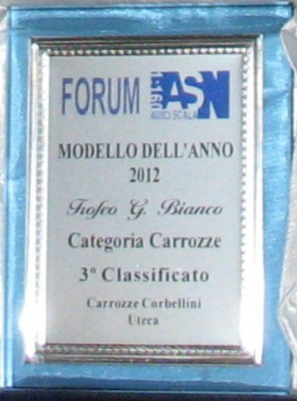 """Premio ASN """"Gianfranco Bianco"""" 2012 - terzo classificato"""