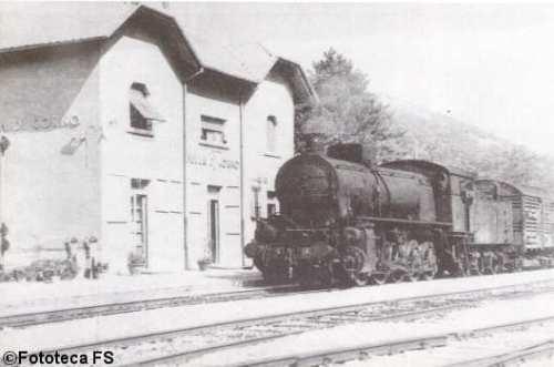 Un'immagine dal passato: Una Gr.471 a Sella di Corno
