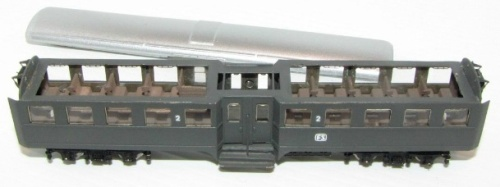 Una Corbellini Tipo 1947 Bz mostra l'arredamento interno