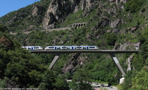 Viadotto Scarassoul presso Tenda - Foto © Giorgio Stagni da stagniweb.altervista.org