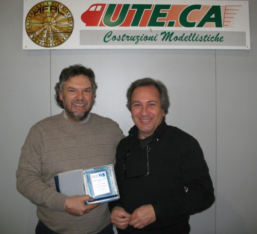 Giacomo Casola e Daniele Luzzietti allo stand UTECA a Verona 2013