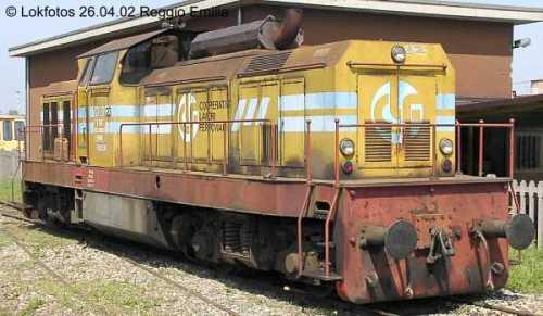 LA CLF 23 è stata trasformata in modo da esseer irriconoscibile come una ex 216! Foto © lockphotos.de