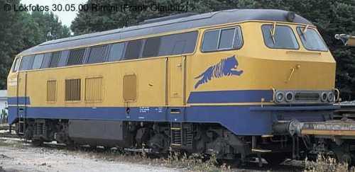 La 216.126 presso Fersalento nel 2000 - Foto © www.lokphotos.de