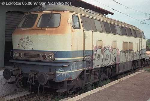 La 216.206 presso Fersalento nel 1997 - Foto © www.lokphotos.de