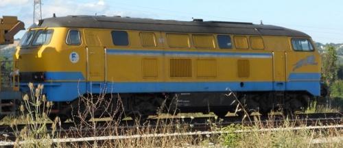 La 216.206 presso Fersalento nella nuova livrea - Foto © /www.trainsimsicilia.net/