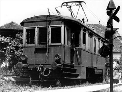 Motrice della Ferrovia Transatesina
