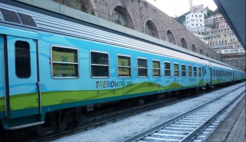 Treno Verde 2011 a Genova. Foto © Guidix da flickr