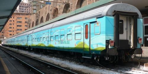 Treno Verde 2012 a Genova. Foto © guidix da flickr