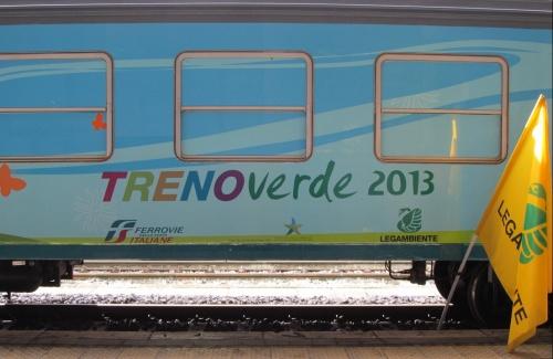 Treno Verde 2013 a Brescia. Foto © LegAmbiente da flickr