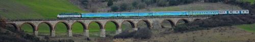Treno Verde in corsa. Foto © Luca Orga da flickr