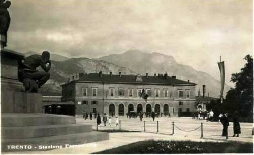 La vecchia stazione di Trento.