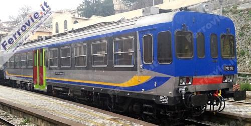 La 776.072 di Umbria Mobilità è stata la prima della sua famiglia ad adottare la nuova livrea. Foto da Ferrovie.it On Line