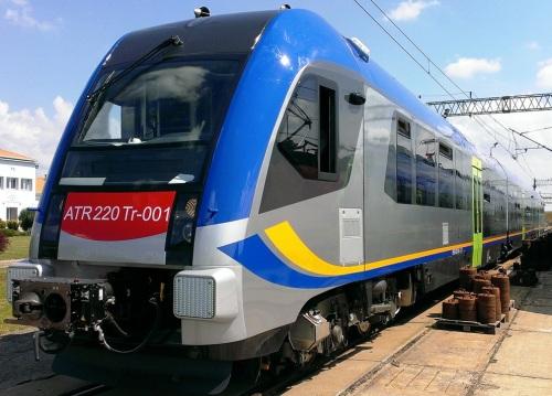 La livrea definitiva del PESA, ancora senza il logo Swing da http://www.railwaygazette.com/