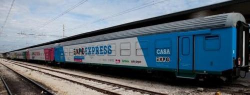 TrenoExpo a Bari. Foto da www.pugliain.net/exposhowcone-sostenibile/