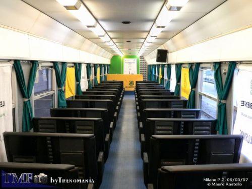 Interno della vettura conferenze - foto © M.Rastello da trenomania.org