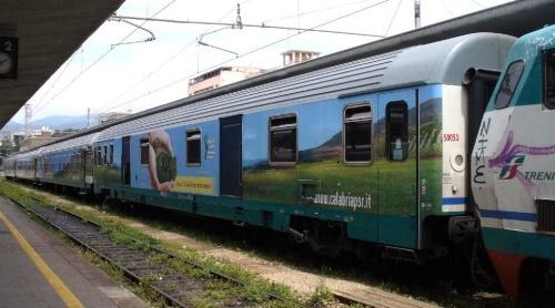 """Il convoglio """"Calabria in Movimento"""" - Foto © da http://www.ferrovieincalabria.com/"""