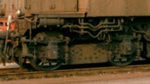 Il carrello di origine. Dettaglio da una foro di Werner Hardmeier.