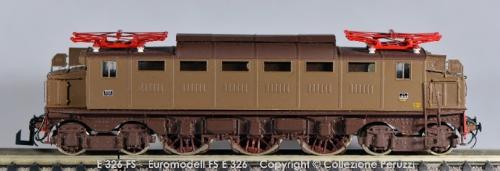FS E.326 Euromodell FP - immagine © dalla Collezione di Vittorio Peruzzi