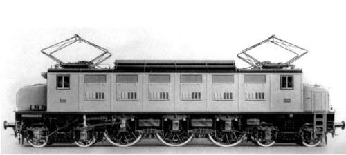 La E.326 in versione di serie.
