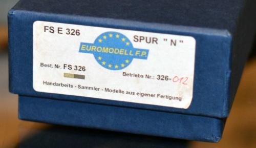 Confezione del modello di Euromodell FP