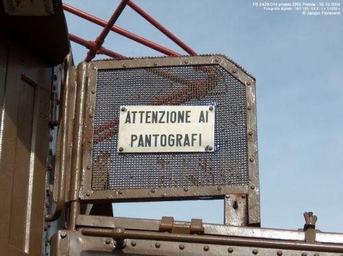 Griglia antiinfortunistica sulla 014 - Foto © Jacopo Fioravanti da trenomania.