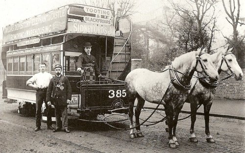 Tram a cavalli, da wikipedia
