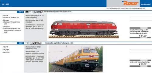 La 232/320 sul catalogo delle novità Roco Autunno 2011