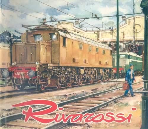 Copertina del catalogo Rivarossi del 1966-67