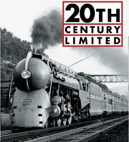Il 20th Century Limited, dalla copertina dell'omonimo libro di Zimmermann
