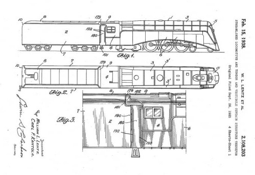 """Schema della NYC """"Commodore Vanderbilt"""" - da dieselpung.org"""