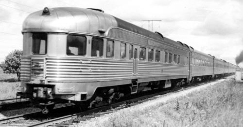 Observation della Canada Southern nel 1950 a Indianapolis - Foto da www.canadasouthern.com/