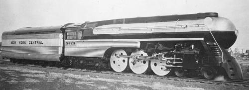 La Super Hudson J3 diell'Empire State Express, da www.railroad.net