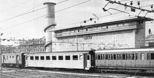 Una Az a Roma nel 1968. Foto P. Blasimme, da Mondo Ferroviario 108