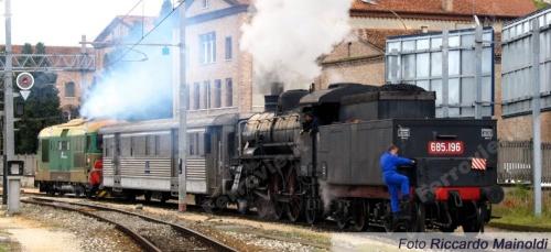 Il DUz ormai entrato in parco storico. Foto Mainoldi da ferrovie.it