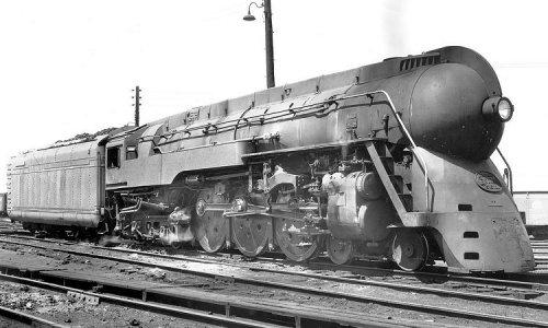 La J-1 5344, ex Commodore Vanderbilt. Foto © Richard Leonard da www.railarchive.net/