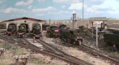 Altra vista del deposito locomotive di Giuseppe