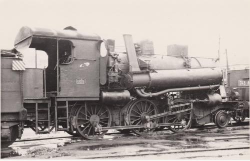 La 623.178 in deposito locomotive di Venezia nel 1955. Foto D.E. Shepherd, contribuita al Portale de Treni da Bruno Cividini.