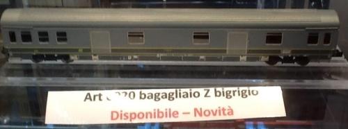 Bagagliaio UIC-Z bigrigio presentato a Novegro 2014 - dalla pagina facebook dei Pirati