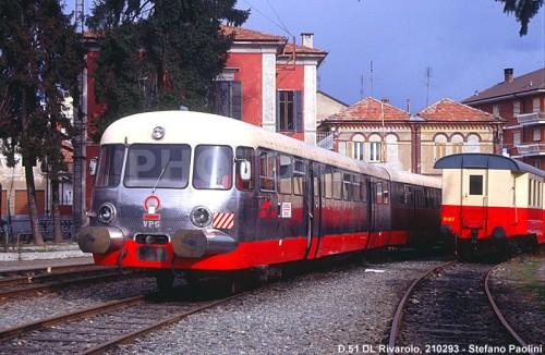 Il SATTI D.51 accantonato a Rivarolo nel 1993 - Foto © Stefano Paolini da photorail.com