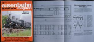Eisenbahn Magazin Modellbahn / Heft 10 Oktober 1988