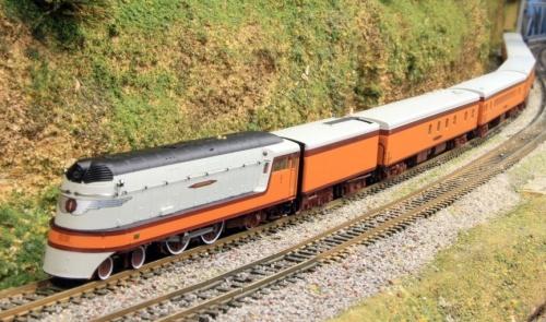 Lo Hiawatha di Foz Valley in scala N - Immagine da www.trainboard.com