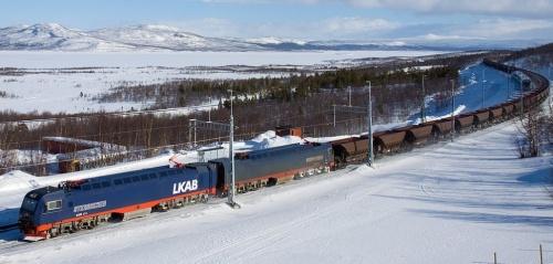 IORE in Svezia, Co′Co′+Co′Co′ da 180 ton e 23 m, capace di 11.016 KW (14.772Hp) di picco - Foto © David Gubler da bahnbilder.ch