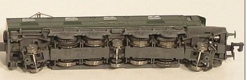 Minitrix 12426 - Ae 8/14 11801 - dettaglio del rodiggio