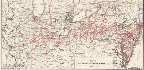 Rete ferroviaria della Pennsylvania RR