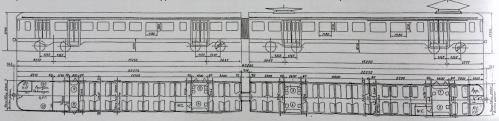 Schema delle AM 54-56. Archivio S.Pautasso © da tuttotreno