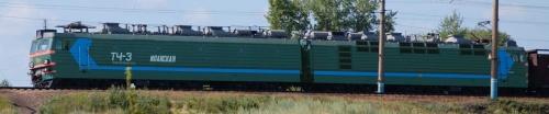 La russa VL85: Bo'Bo'Bo'+Bo'Bo'Bo' lunga 45 m, con potenza continuativa di 9,360 kW (12,550 hp) 10,020 kW - Foto Vivan755 da wikipedia